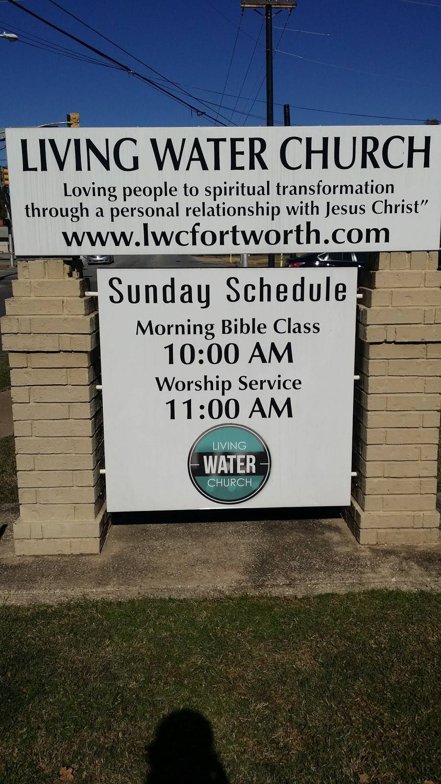 Living Water Church - church  | Photo 5 of 5 | Address: 109 S Roberts Cut Off Rd, Fort Worth, TX 76114, USA | Phone: (817) 738-9917