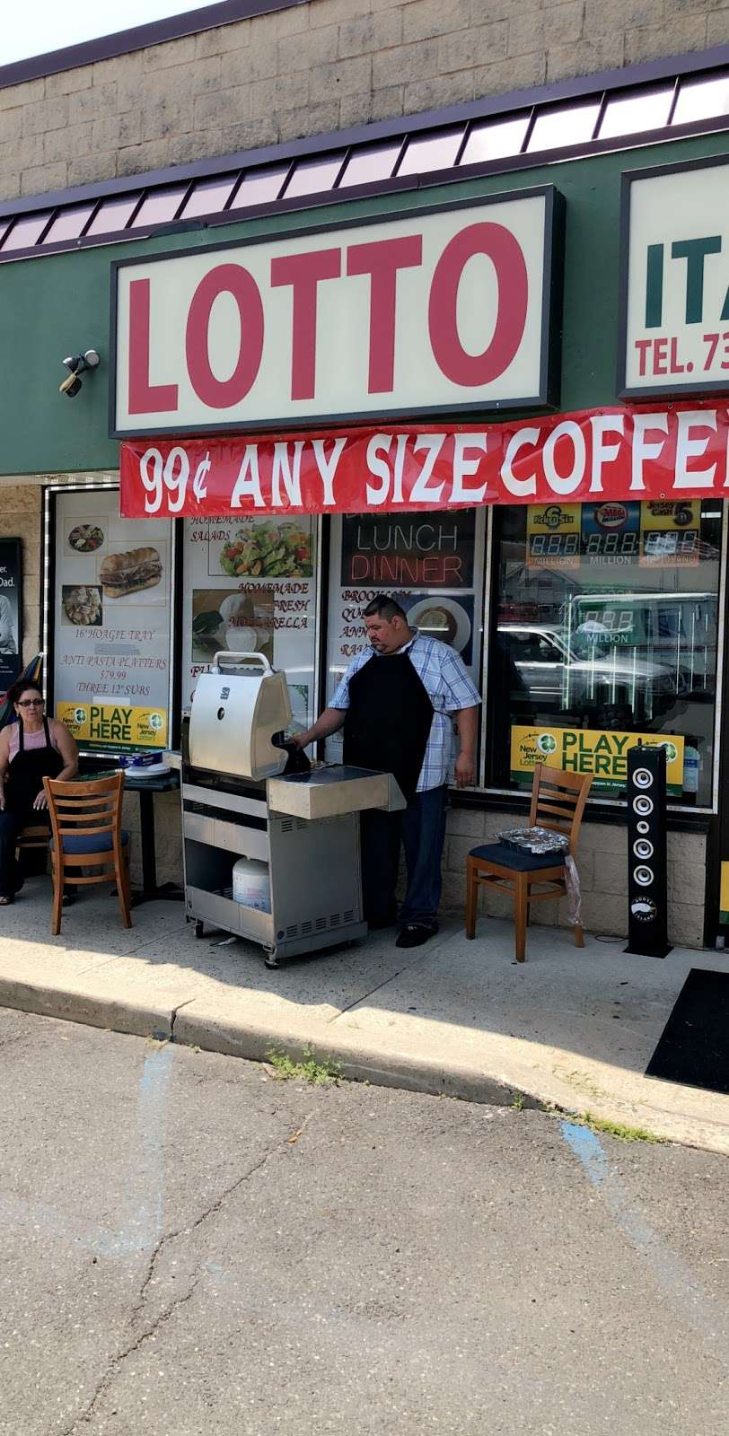 New York Italian Deli - restaurant  | Photo 3 of 10 | Address: 145 Amboy Ave, Woodbridge, NJ 07095, USA | Phone: (732) 855-0099