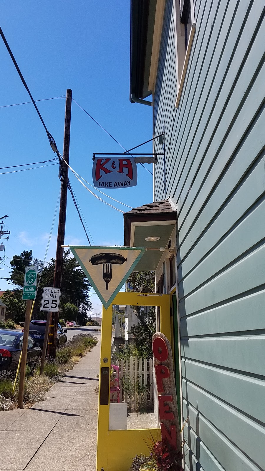 K&A Take Away - meal takeaway  | Photo 5 of 9 | Address: 13 Dilon Beach Road, Tomales, CA 94971, USA | Phone: (707) 878-2969