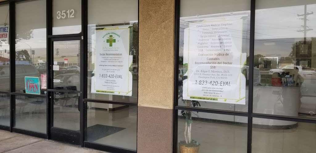 Dr. Edgar I. Martinez D.O. Medical Center / Medical Cannabis Eva - doctor  | Photo 4 of 9 | Address: 3512 E Florence Ave #102-103, Huntington Park, CA 90255, USA | Phone: (323) 582-1180