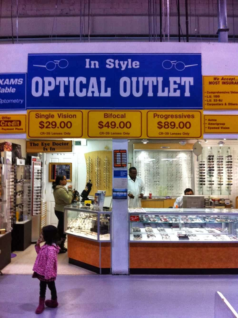 Instyle Optical Outlet - store  | Photo 1 of 1 | Address: 370 Essex St, Lodi, NJ 07644, USA | Phone: (201) 712-1990