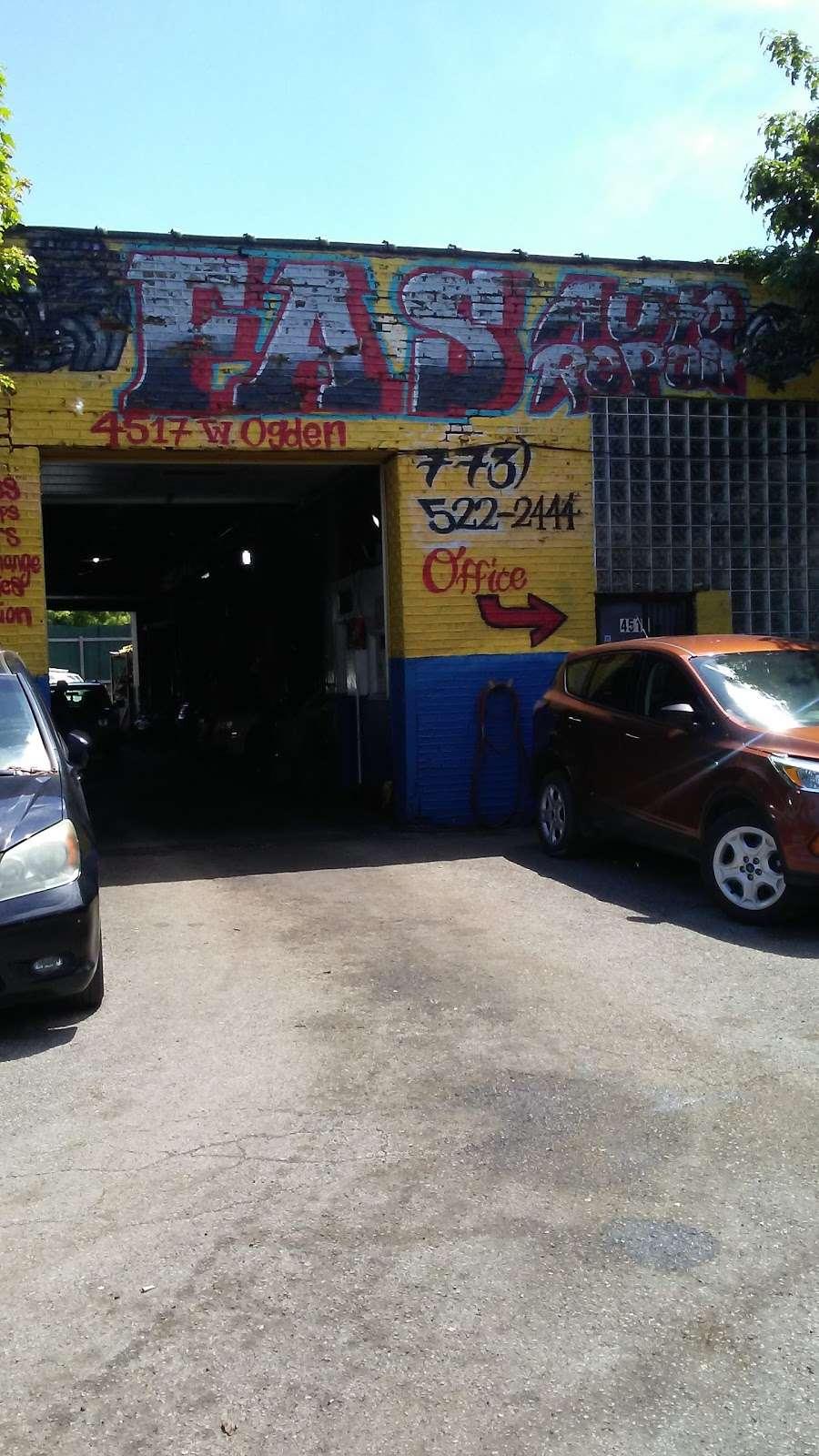Fas Auto Repair - car repair  | Photo 2 of 7 | Address: 4517 Ogden Ave, Chicago, IL 60623, USA | Phone: (773) 522-2444