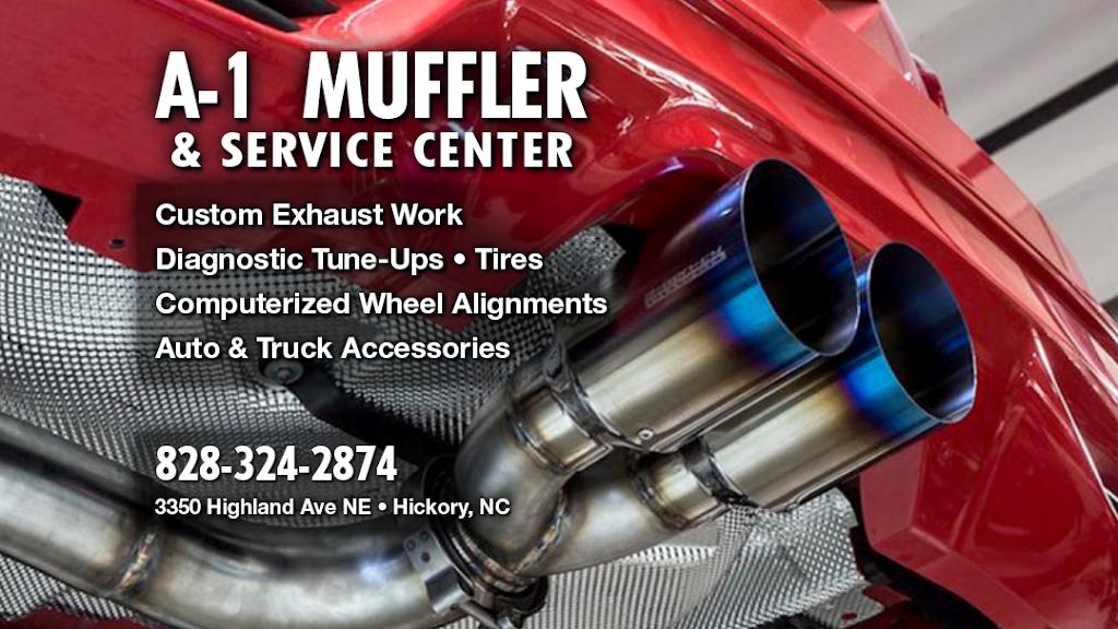 A-1 Muffler & Service Center - car repair  | Photo 1 of 2 | Address: 3350 Highland Ave NE, Hickory, NC 28601, USA | Phone: (828) 324-2874