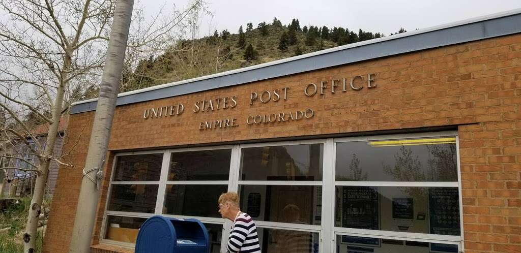United States Postal Service - post office  | Photo 6 of 8 | Address: 215 W Park Ave, Empire, CO 80438, USA | Phone: (800) 275-8777