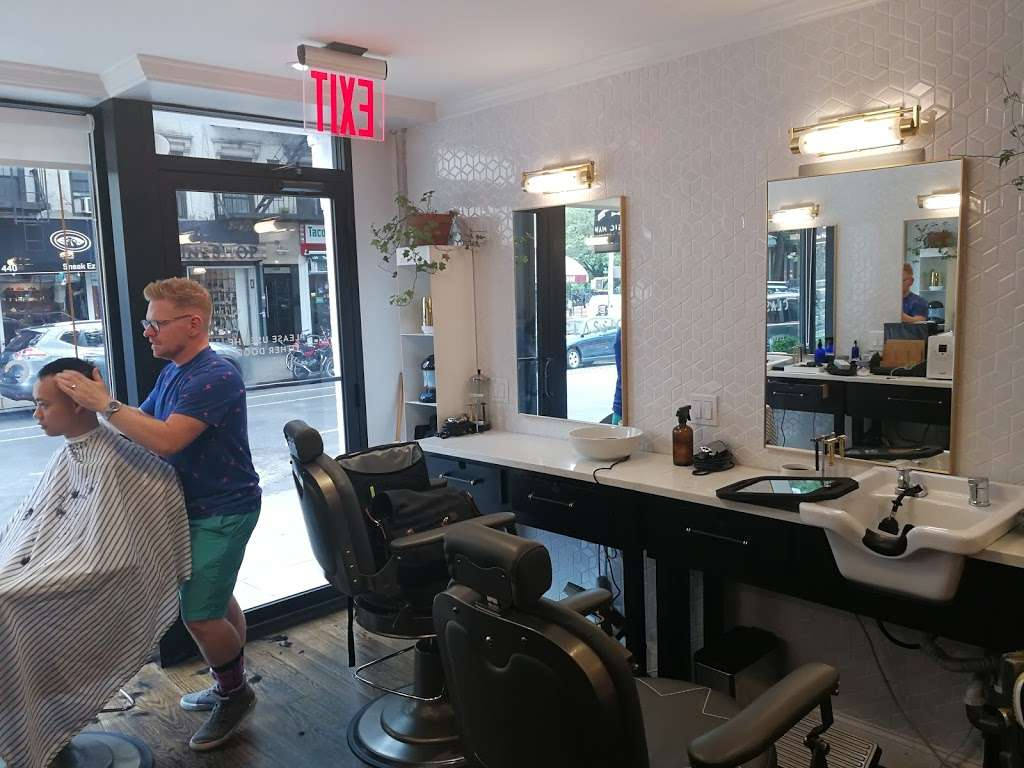 Classic Man Barber Lounge - hair care  | Photo 2 of 10 | Address: 443-445 E 9th St, New York, NY 10009, USA | Phone: (646) 484-5416