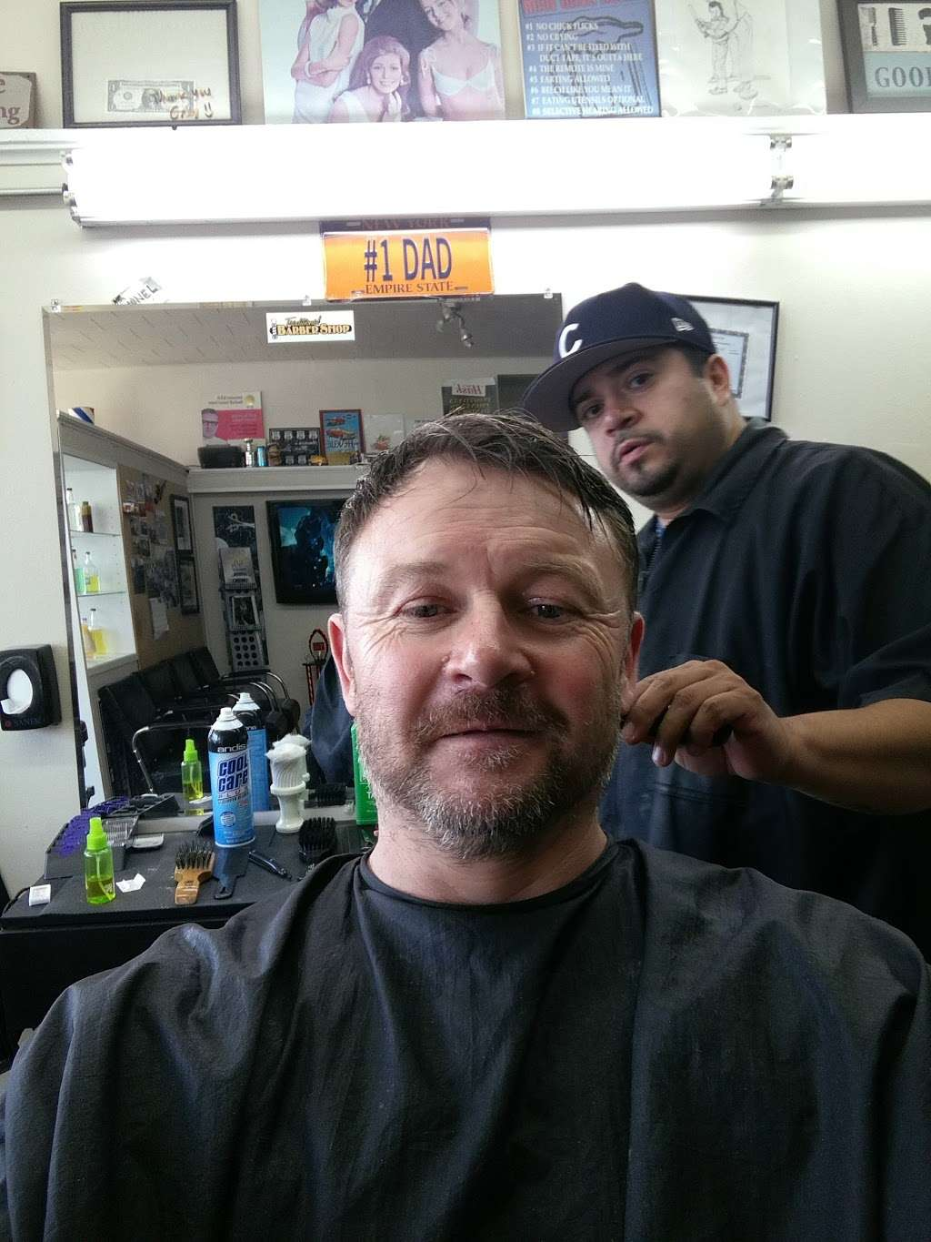 Traditional Barber Shop - hair care  | Photo 2 of 2 | Address: 7707 W Fullerton Ave, Elmwood Park, IL 60707, USA | Phone: (773) 433-0811