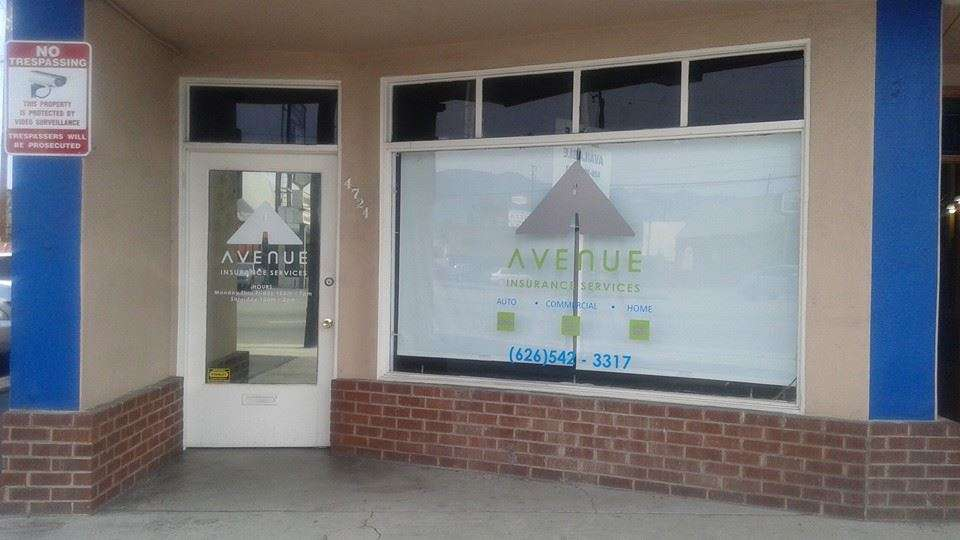 Avenue Insurance Services - insurance agency  | Photo 2 of 6 | Address: 4724 Peck Rd, El Monte, CA 91732, USA | Phone: (626) 542-3317