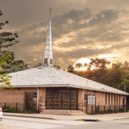 St Lawrence RC Church - church    Photo 1 of 2   Address: 22 Hackensack Ave, Weehawken, NJ 07086, USA   Phone: (201) 863-6464