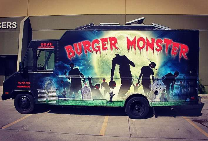 Burger Monster - restaurant  | Photo 3 of 10 | Address: 1500 E Cerritos Ave, Anaheim, CA 92805, USA | Phone: (714) 886-9627