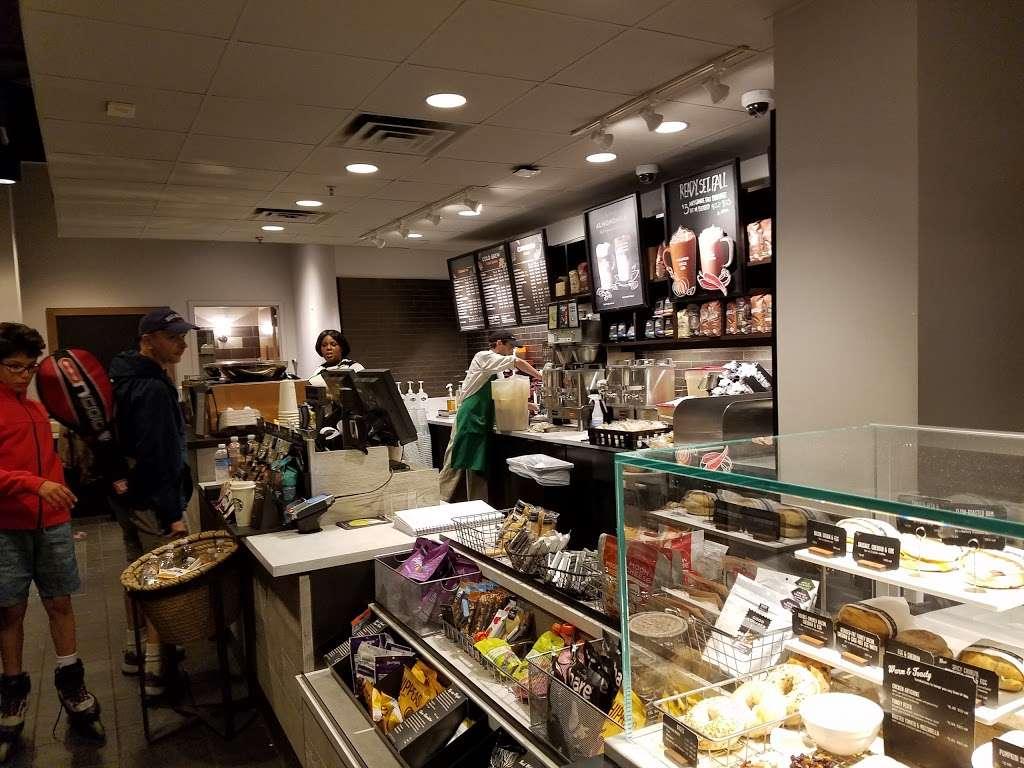 Starbucks - cafe    Photo 6 of 10   Address: 455 Main St, New York, NY 10044, USA   Phone: (212) 371-1298