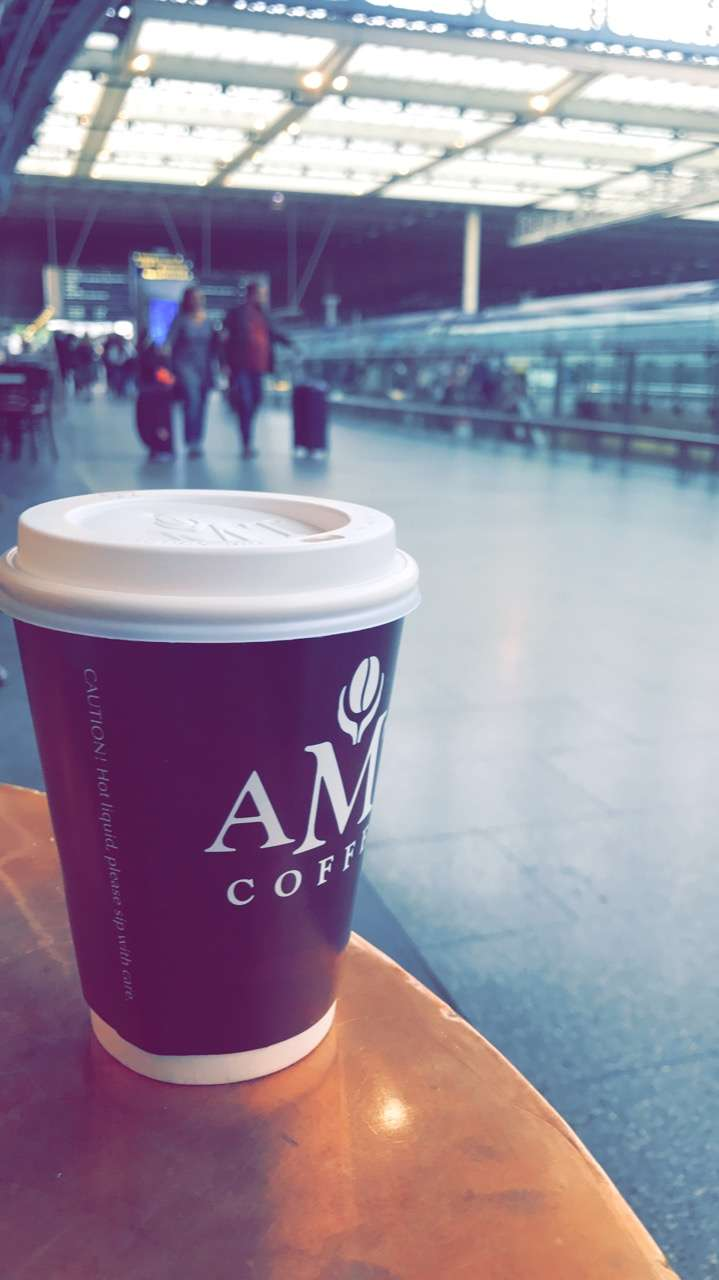 AMT Coffee - cafe  | Photo 6 of 10 | Address: Euston Rd, Kings Cross, London N1C 4QP, UK | Phone: 020 3772 4000
