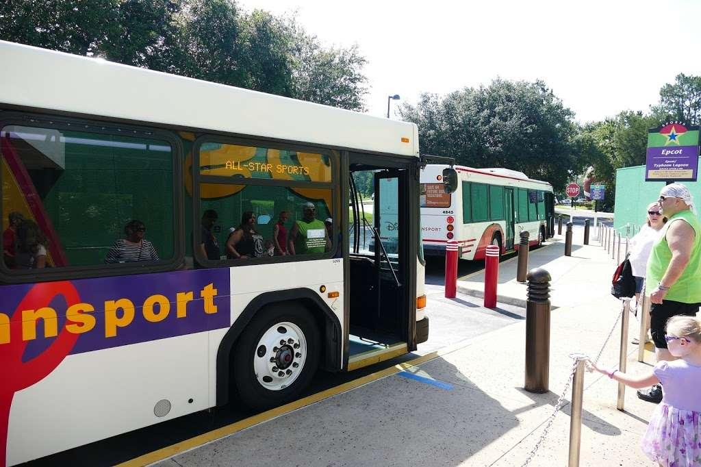 Disneys All-Star Sports Resort - bus station    Photo 5 of 10   Address: Bay Lake, FL 34747, USA