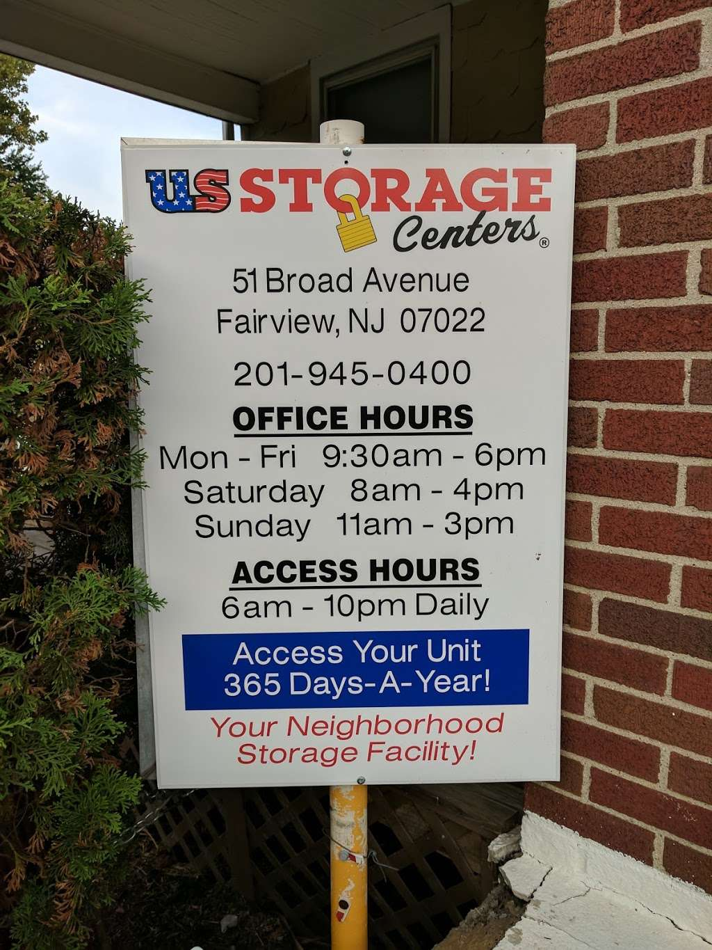 US Storage Centers - moving company  | Photo 7 of 8 | Address: 51 Broad Ave, Fairview, NJ 07022, USA | Phone: (201) 308-1946