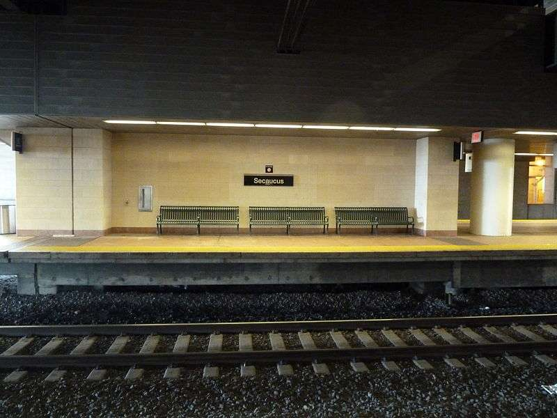 Frank R. Lautenberg Rail Station - transit station  | Photo 8 of 10 | Address: Secaucus, NJ, USA