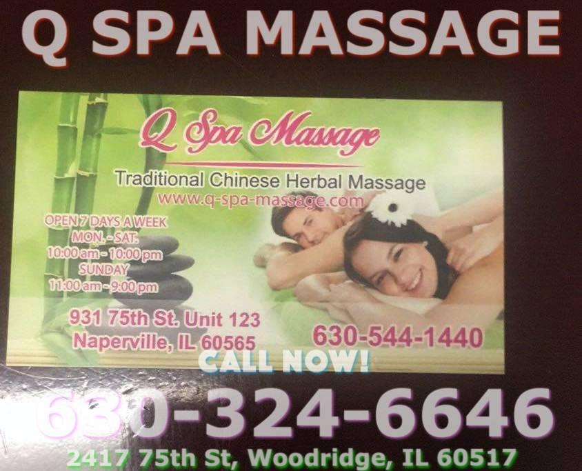 Q Spa Massage - spa  | Photo 4 of 4 | Address: 2417 75th St, Woodridge, IL 60517, United States | Phone: (630) 324-6646