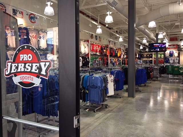 Pro Jersey Sports - clothing store  | Photo 4 of 10 | Address: 635 E Boughton Rd Suite 120, Bolingbrook, IL 60440, USA | Phone: (800) 628-0480