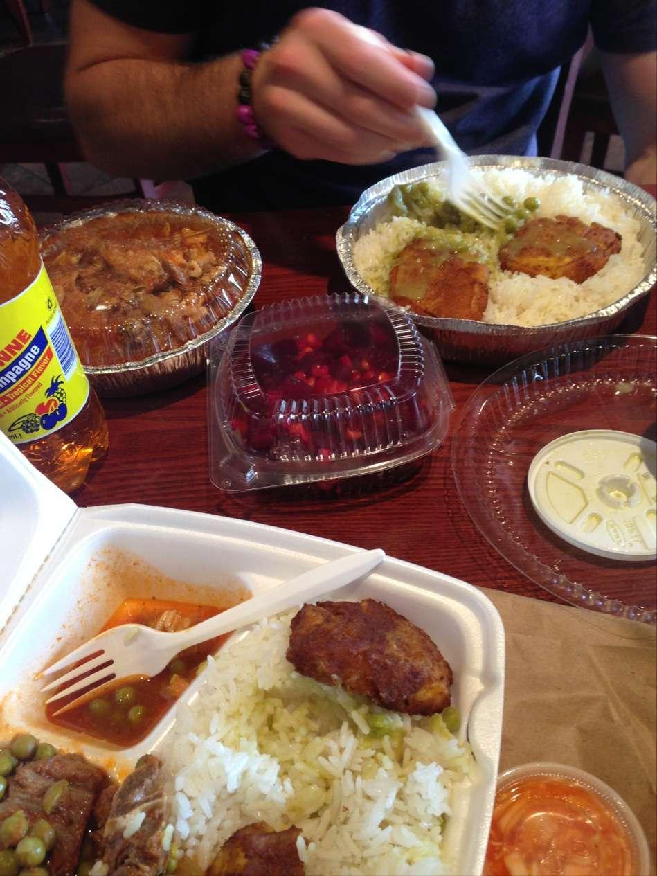 Kreyol Flavor - restaurant  | Photo 9 of 10 | Address: 1738 Flatbush Ave, Brooklyn, NY 11210, USA | Phone: (718) 258-0509