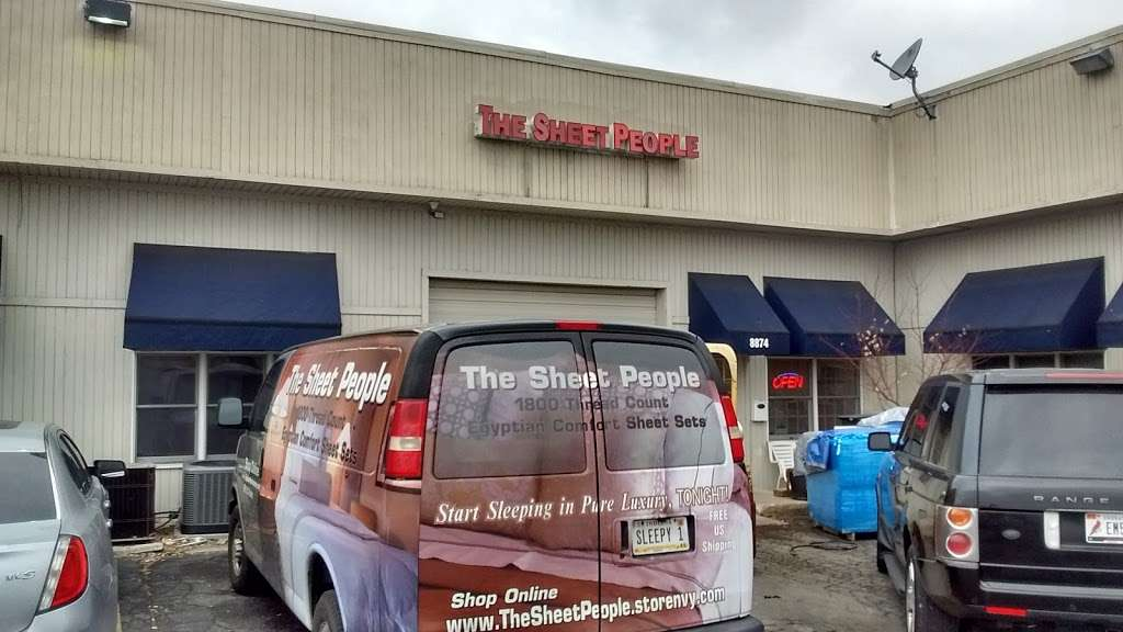 The Sheet People - home goods store  | Photo 1 of 4 | Address: 8874 Louisiana St, Merrillville, IN 46410, USA | Phone: (219) 756-7000
