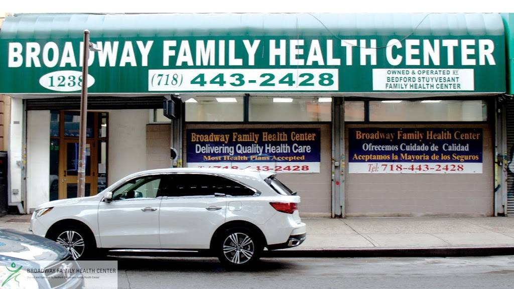 Broadway Family Health Center - hospital    Photo 1 of 2   Address: 1238 Broadway #D, Brooklyn, NY 11221, USA   Phone: (718) 443-2428