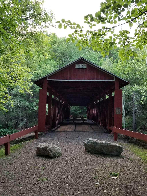 Josiah Hess Covered Bridge - museum  | Photo 2 of 10 | Address: Winding Rd, Orangeville, PA 17859, USA