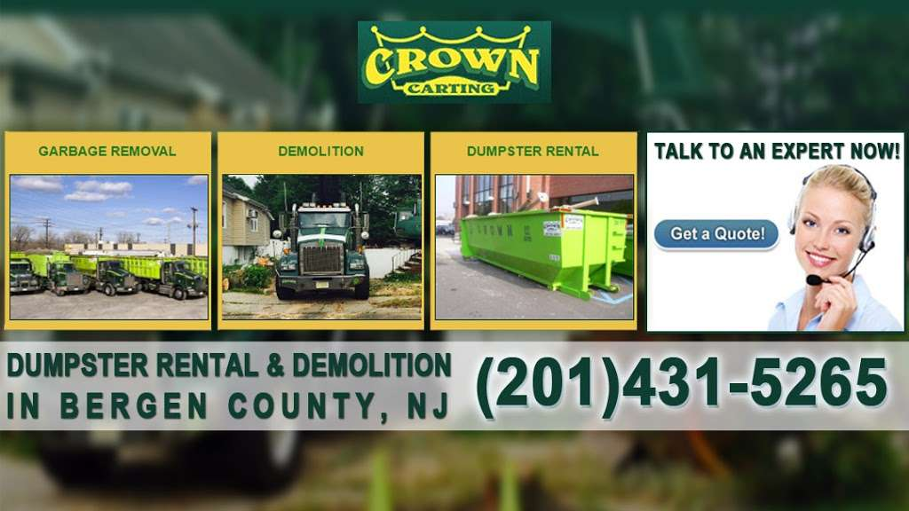 Crown Carting LLC - moving company  | Photo 3 of 4 | Address: 530 Church St # 8, Ridgefield, NJ 07657, USA | Phone: (201) 941-2075
