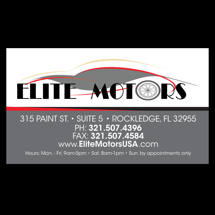 Elite Motors - car dealer  | Photo 3 of 4 | Address: 315 Paint St #5, Rockledge, FL 32955, USA | Phone: (321) 507-4396