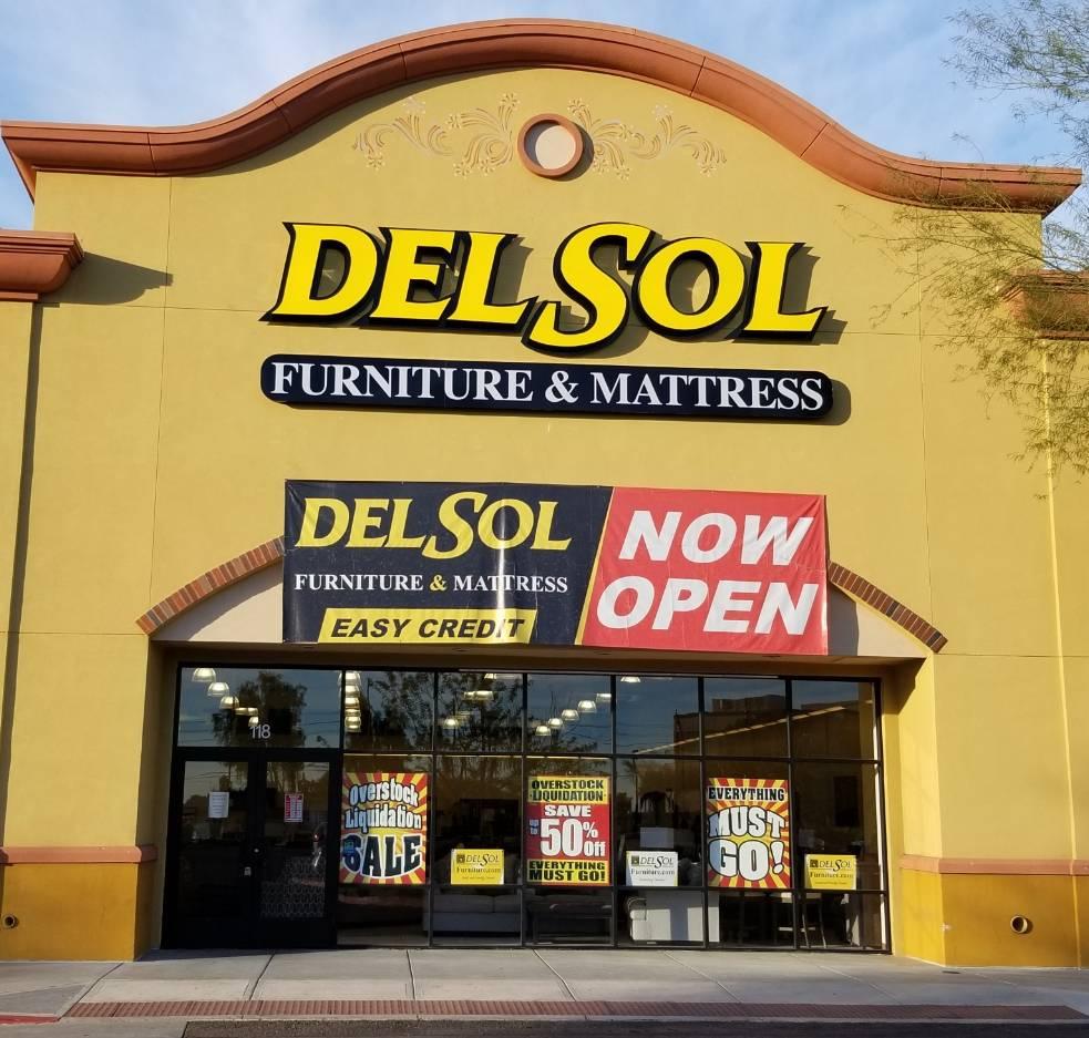 Del Sol Furniture & Mattress - furniture store  | Photo 1 of 10 | Address: 1036 E Southern Ave Suite 118, Mesa, AZ 85204, USA | Phone: (480) 750-8915