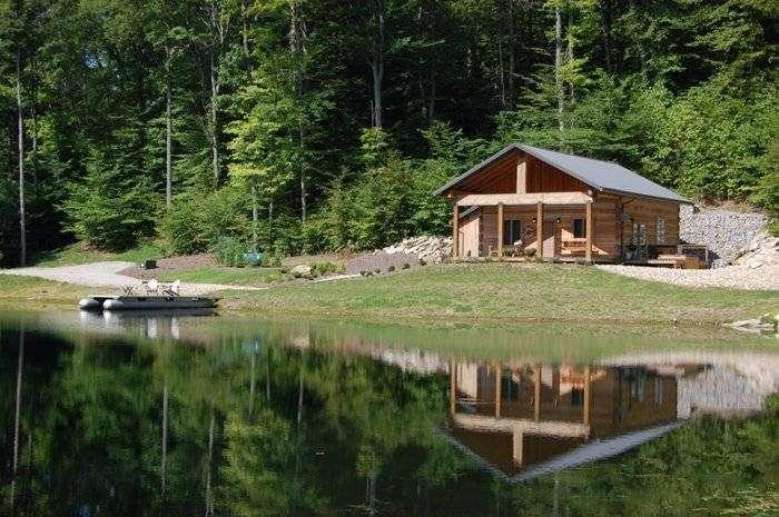 Antler Log Cabins - real estate agency    Photo 4 of 10   Address: 8747 E State Rd 45, Unionville, IN 47468, USA   Phone: (812) 339-6547