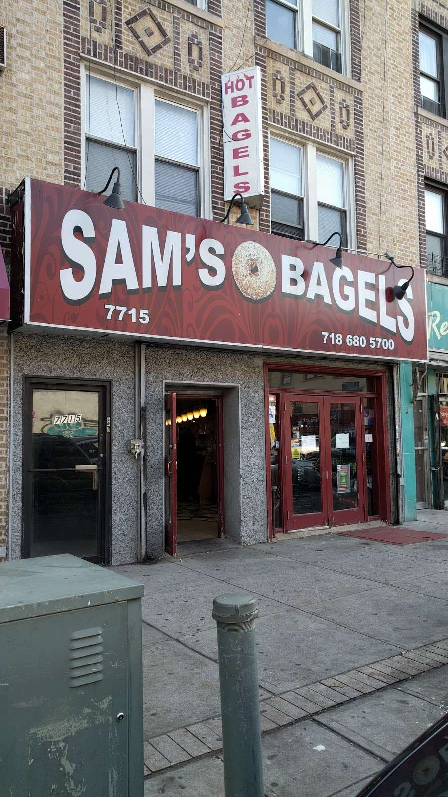 Sams Bagels - bakery  | Photo 8 of 9 | Address: 7715 5th Ave, Brooklyn, NY 11209, USA | Phone: (718) 680-5700