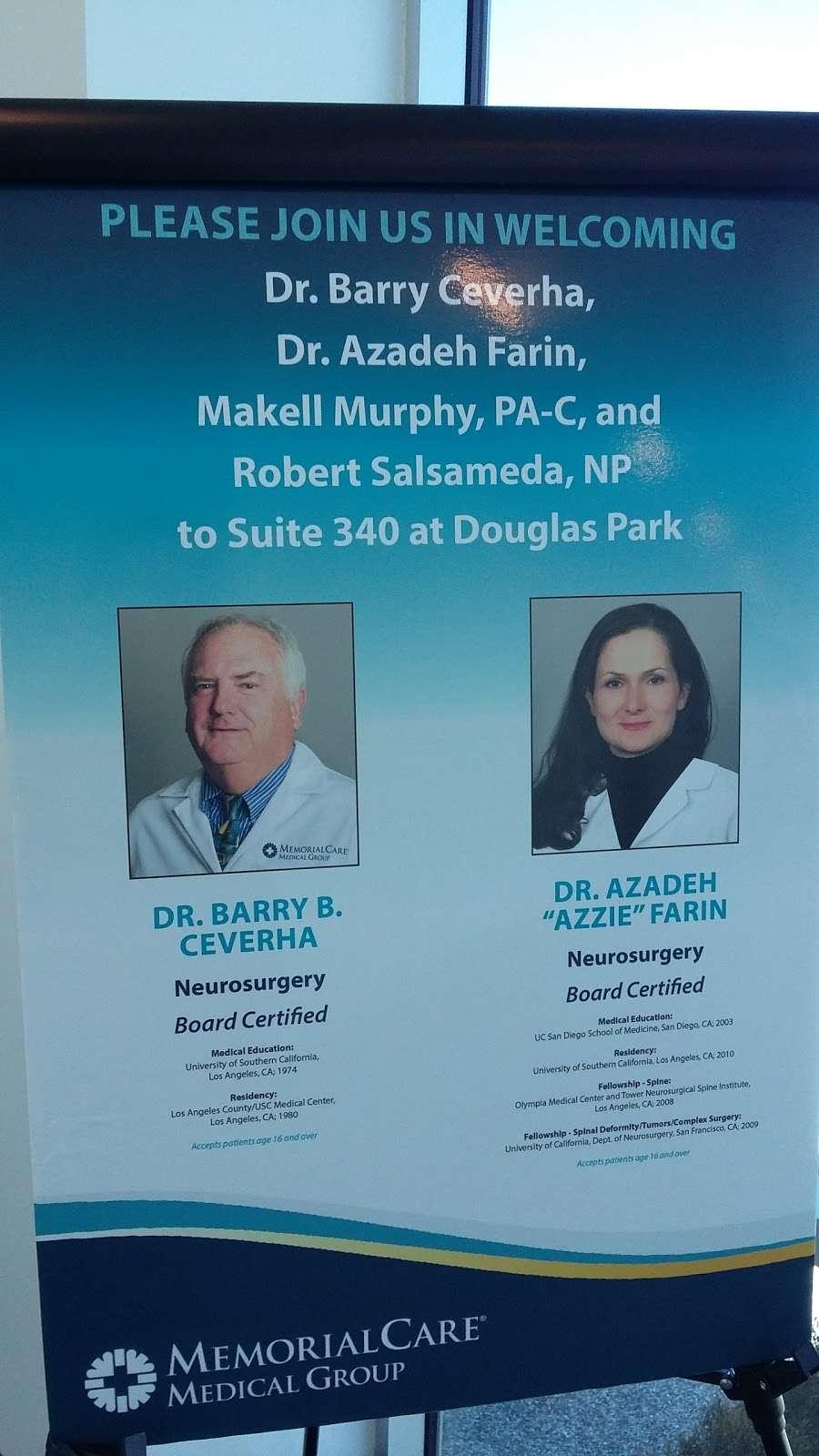 Barry B. Ceverha, MD - doctor    Photo 6 of 6   Address: 3828 Schaufele Ave Suite 340, Long Beach, CA 90808, USA   Phone: (657) 241-9051