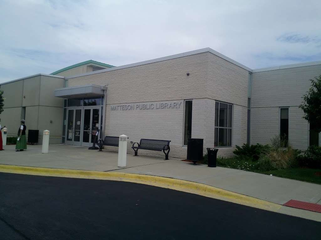 Matteson Area Public Library District - library  | Photo 1 of 2 | Address: 801 School Ave, Matteson, IL 60443, USA | Phone: (708) 748-4431