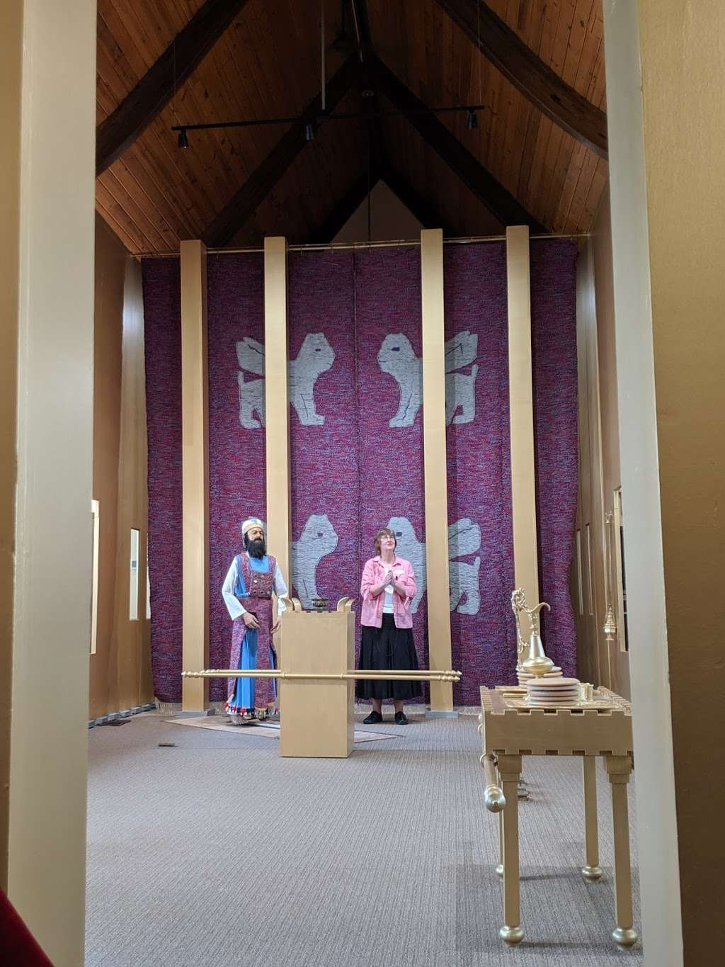 Biblical Tabernacle Reproduction - museum  | Photo 7 of 10 | Address: 2209 Millstream Rd, Lancaster, PA 17602, USA | Phone: (717) 299-0954