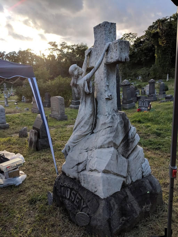 Historic Jersey City and Harsimus Cemetery - cemetery  | Photo 3 of 9 | Address: 435 Newark Ave, Jersey City, NJ 07302, USA | Phone: (201) 707-0738