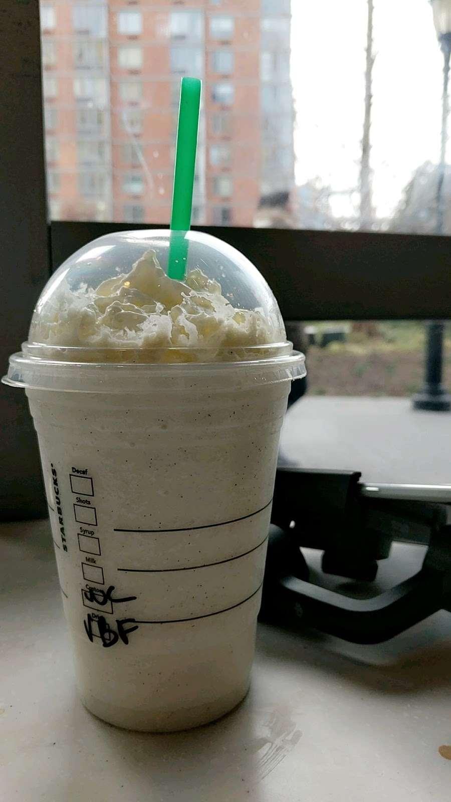 Starbucks - cafe    Photo 10 of 10   Address: 455 Main St, New York, NY 10044, USA   Phone: (212) 371-1298