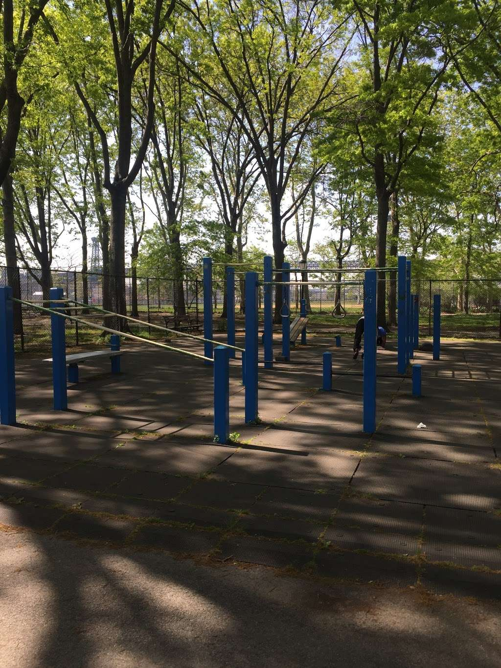 East River Outdoor Gym - gym  | Photo 1 of 1 | Address: E River Bikeway, New York, NY 10009, USA | Phone: (212) 639-9675