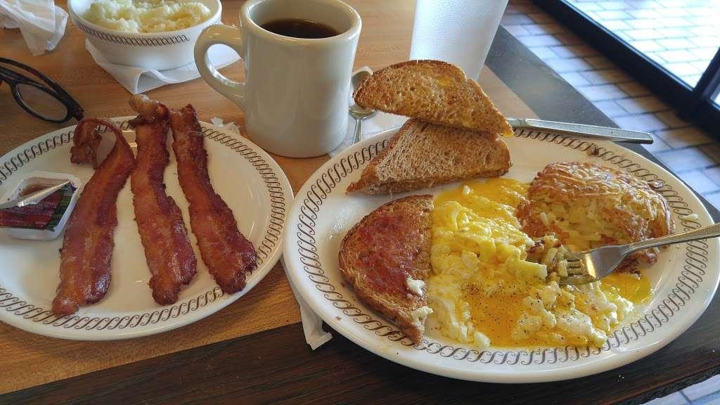 Waffle House - meal takeaway    Photo 10 of 10   Address: 7203 Garth Rd, Baytown, TX 77521, USA   Phone: (281) 421-2499