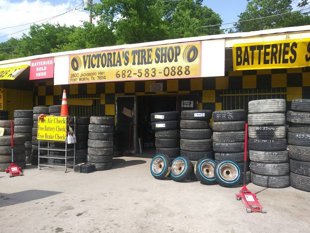 Victoria's Tire Shop - car repair  | Photo 8 of 8 | Address: 2800 Jacksboro Hwy, Fort Worth, TX 76114, USA | Phone: (682) 583-0888