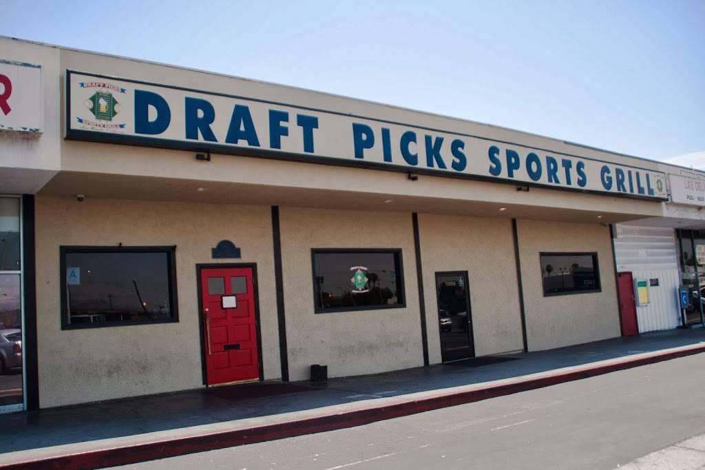 Draft Picks Sports Grill - night club  | Photo 1 of 10 | Address: 15856 Imperial Hwy, La Mirada, CA 90638, USA | Phone: (562) 947-9990