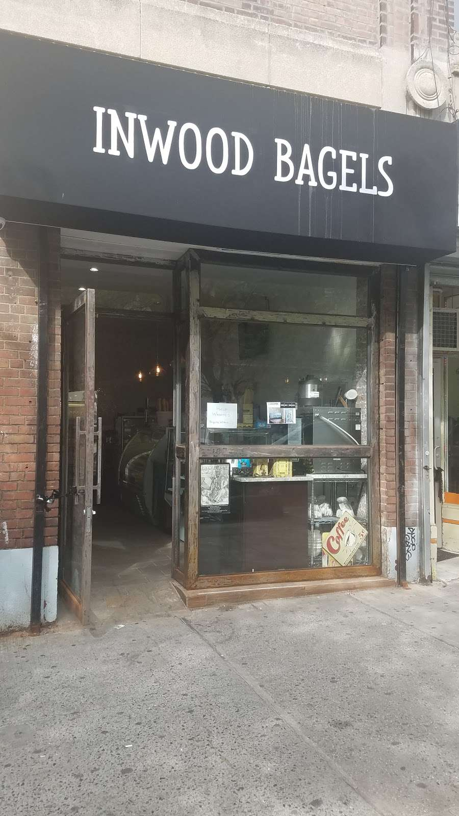 Inwood Bagels - bakery  | Photo 3 of 9 | Address: 628 W 207th St, New York, NY 10034, USA | Phone: (212) 569-7770