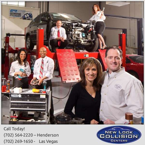 New Look Collision Center - car repair  | Photo 6 of 10 | Address: 5845 W Shelbourne Ave, Las Vegas, NV 89139, USA | Phone: (702) 269-1650
