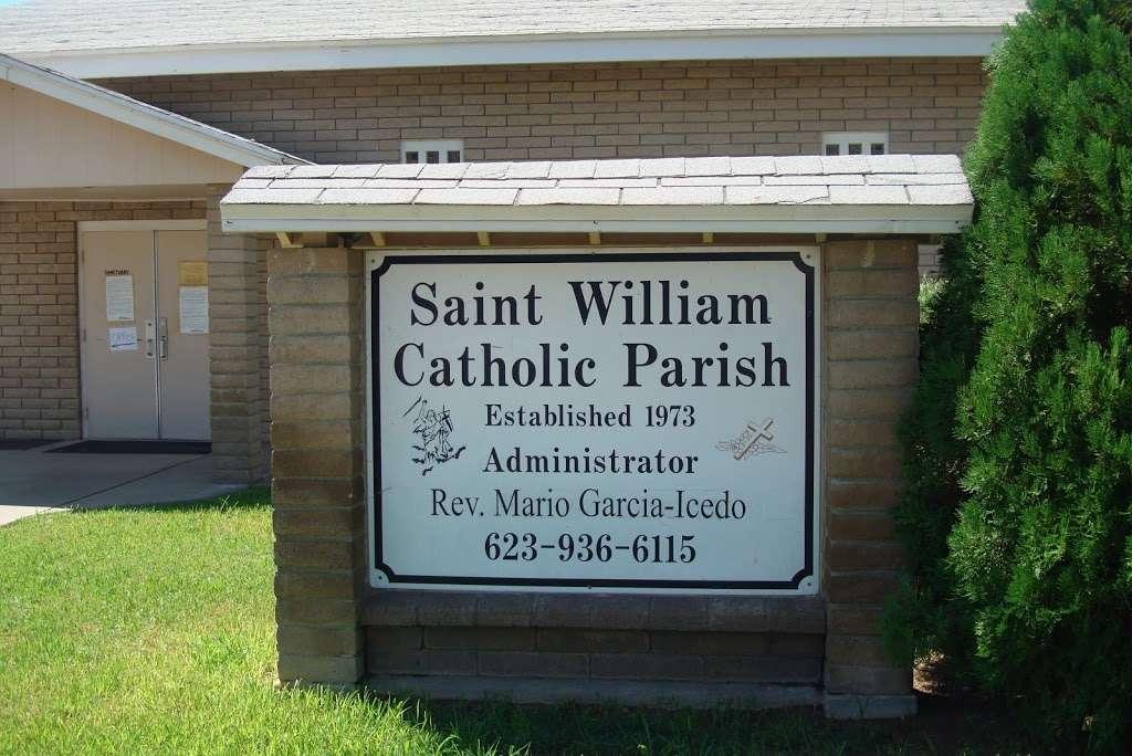 Saint Williams Catholic Church - church    Photo 4 of 9   Address: 11025 W 3rd St, Cashion, AZ 85329, USA   Phone: (623) 936-6115