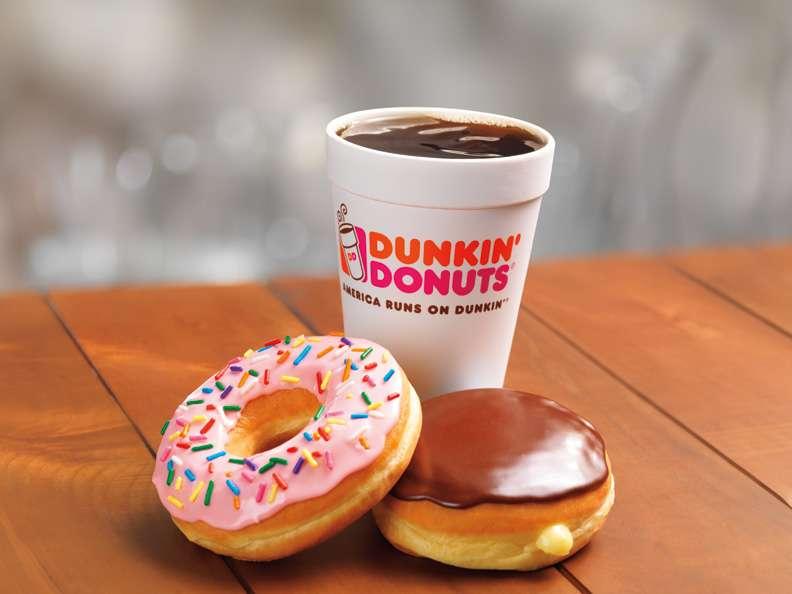 Dunkin - cafe  | Photo 4 of 10 | Address: 811 Bedford St, Whitman, MA 02382, USA | Phone: (781) 447-5197