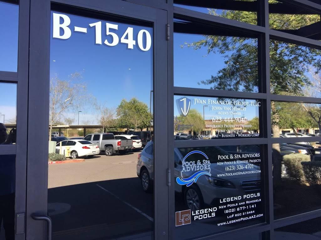 JVan Financial Group - insurance agency    Photo 1 of 1   Address: 9784 W Yearling Rd B-1540, Peoria, AZ 85383, USA   Phone: (623) 444-9040