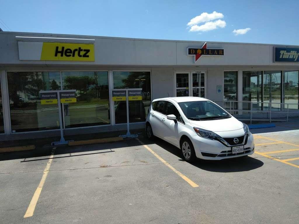 hertz car rental in houston tx