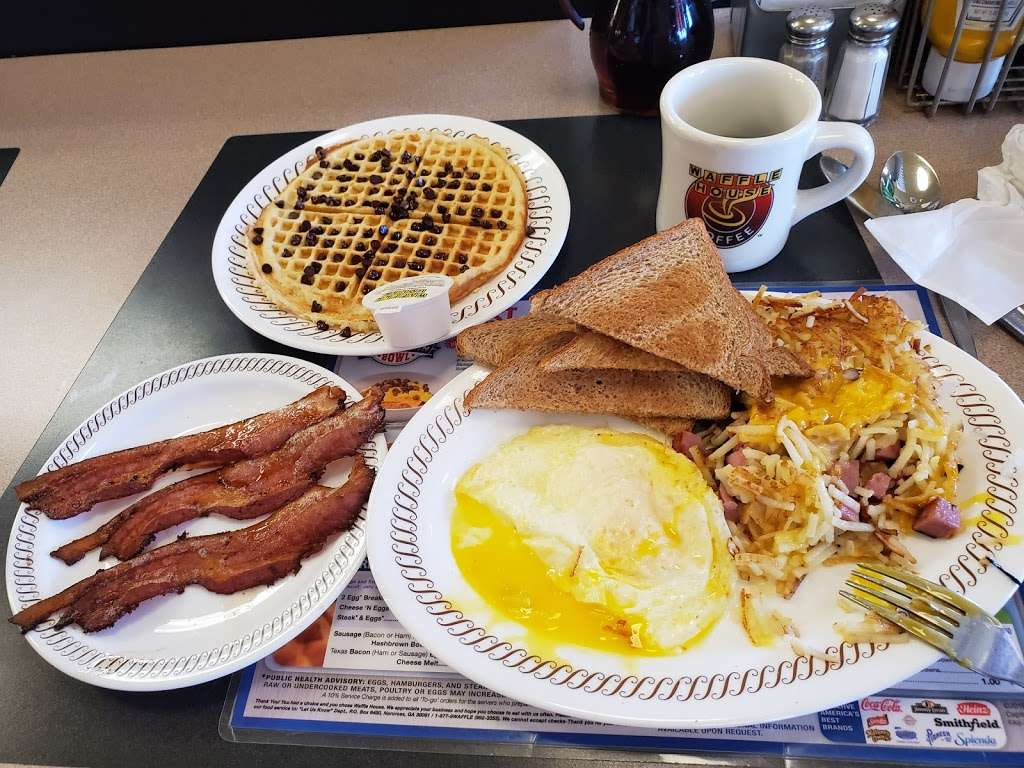 Waffle House - meal takeaway  | Photo 8 of 9 | Address: 1801 W Baseline Rd, Guadalupe, AZ 85283, USA | Phone: (480) 838-6407