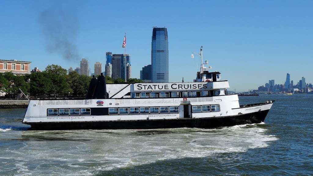 Statue Cruises - travel agency  | Photo 3 of 10 | Address: 1 Audrey Zapp Dr, Jersey City, NJ 07305, USA | Phone: (877) 523-9849