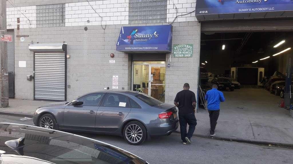 Sunnys Autobody, LLC - car repair    Photo 2 of 8   Address: 4151 Boston Road #A, Bronx, NY 10466, USA   Phone: (718) 325-5300