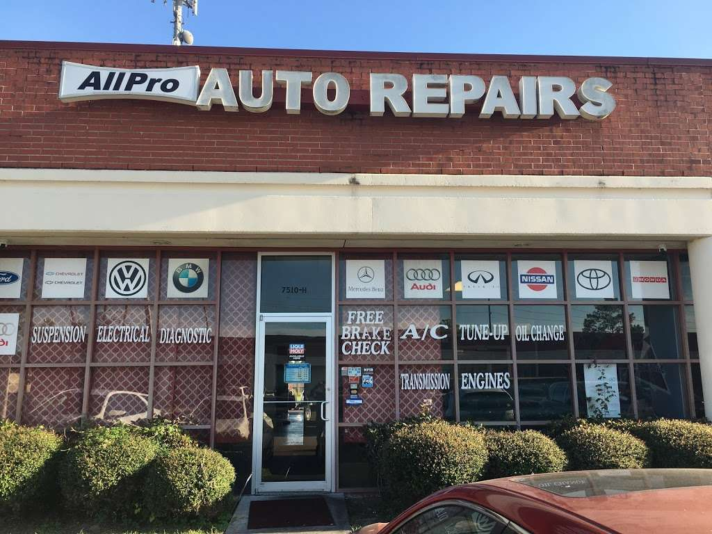 All Pro Auto Repairs - car repair  | Photo 1 of 6 | Address: 7510 Cherry Park Dr, Houston, TX 77095, USA | Phone: (281) 861-9283