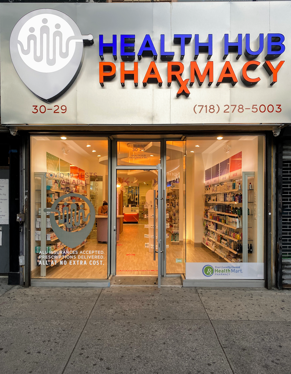 Health Hub Pharmacy - pharmacy  | Photo 1 of 10 | Address: 30-29 Steinway St, Astoria, NY 11103, USA | Phone: (718) 278-5003