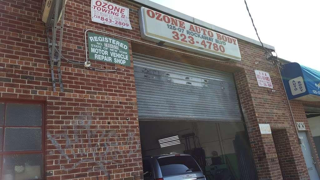 Ozone Auto Body - car repair  | Photo 1 of 4 | Address: 12507 Rockaway Blvd, Jamaica, NY 11420, USA | Phone: (718) 323-4780